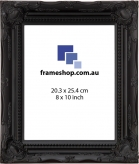 SOHO Black to fit 8x10 inch (20.3x25.4cm) photo Outer Size 29x34cm